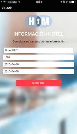 checkin app hotelmanager