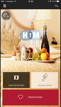 homepage hotelmanager app